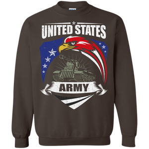 Army G180 Gildan Crewneck Pullover Sweatshirt  8 oz. AM058