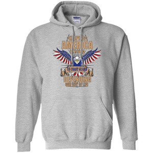 Coast Guard G185 Gildan Pullover Hoodie 8 oz. AM039