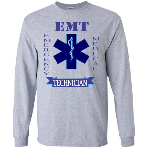 EMT G240 Gildan LS Ultra Cotton T-Shirt AH136