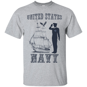Navy G200 Gildan Ultra Cotton T-Shirt AM063