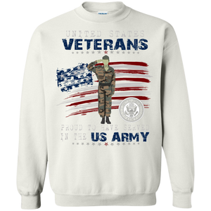 Army G180 Gildan Crewneck Pullover Sweatshirt  8 oz. AM052
