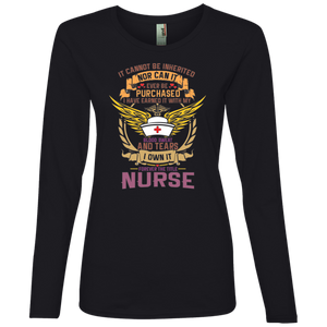 Nurse 884L Anvil Ladies' Lightweight LS T-Shirt AH124