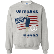 Air Force G180 Gildan Crewneck Pullover Sweatshirt  8 oz. AM048