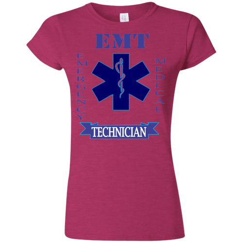 EMT G640L Gildan Softstyle Ladies' T-Shirt AH136