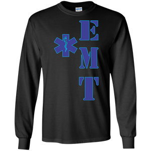 EMT G240 Gildan LS Ultra Cotton T-Shirt AH140