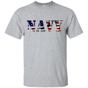 Navy G200 Gildan Ultra Cotton T-Shirt AM044