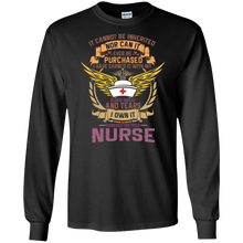 Nurse G240 Gildan LS Ultra Cotton T-Shirt AH124
