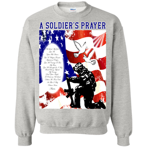 US Military G180 Gildan Crewneck Pullover Sweatshirt  8 oz. AM001