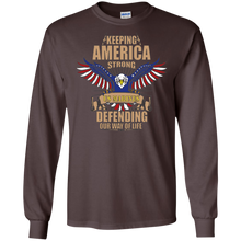 Marines G240 Gildan LS Ultra Cotton T-Shirt AM040