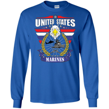 Marines G240 Gildan LS Ultra Cotton T-Shirt AM080