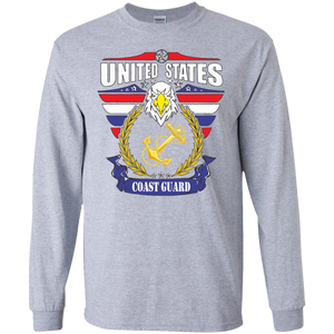 Coast Guard G240 Gildan LS Ultra Cotton T-Shirt AM078