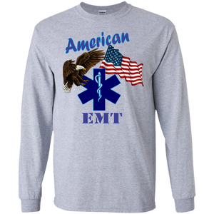 EMT G240 Gildan LS Ultra Cotton T-Shirt AH135