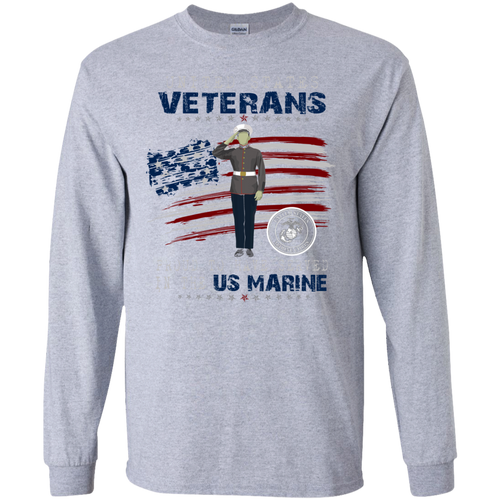 Marines G240 Gildan LS Ultra Cotton T-Shirt AM053