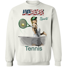 Tennis G180 Gildan Crewneck Pullover Sweatshirt  8 oz. AS 181