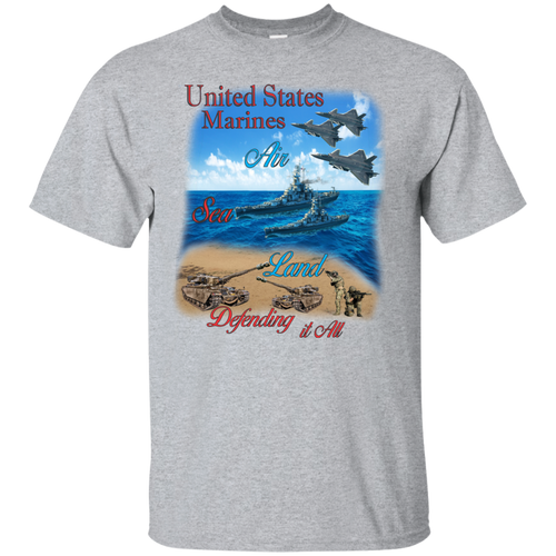 Marines G200 Gildan Ultra Cotton T-Shirt AM043