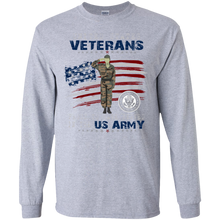 Army G240 Gildan LS Ultra Cotton T-Shirt AM052