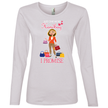 884L Ladies' Lightweight LS T-Shirt JOM 006