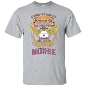 Nurse G200 Gildan Ultra Cotton T-Shirt AH124