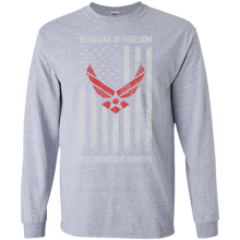 Air Force G240 Gildan LS Ultra Cotton T-Shirt AM031