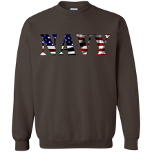 Navy G180 Gildan Crewneck Pullover Sweatshirt  8 oz. AM044