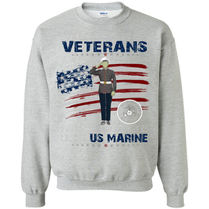 Marines G180 Gildan Crewneck Pullover Sweatshirt  8 oz. AM053