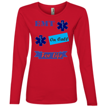 EMT 884L Anvil Ladies' Lightweight LS T-Shirt AH138