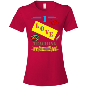 880 Anvil Ladies' Lightweight T-Shirt 4.5 oz AH112