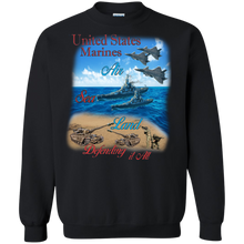 Marines G180 Gildan Crewneck Pullover Sweatshirt  8 oz.AM043