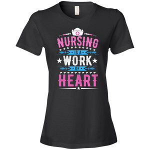 Nurse 880 Anvil Ladies' Lightweight T-Shirt 4.5 oz AH120