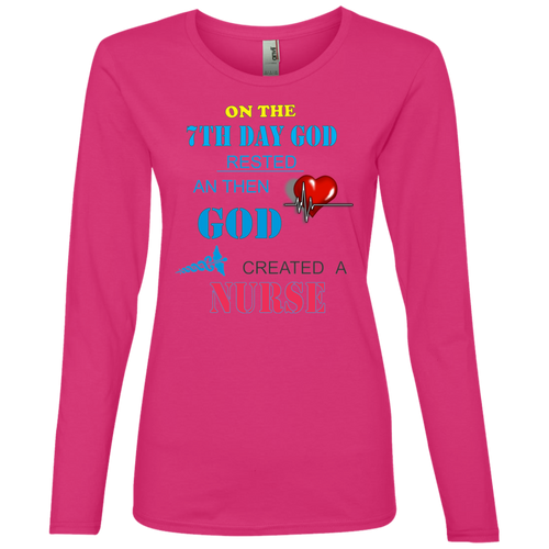 884L Anvil Ladies' Lightweight LS T-Shirt AH108