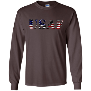 Air Force G240 Gildan LS Ultra Cotton T-Shirt AM068