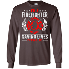Firefighters G240 Gildan LS Ultra Cotton T-Shirt AH146