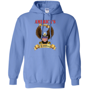 US Military G185 Gildan Pullover Hoodie 8 oz. AM016