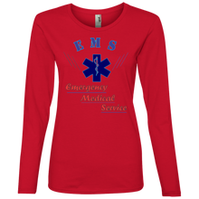 884L Anvil Ladies' Lightweight LS T-Shirt AH139