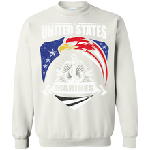 Marines G180 Gildan Crewneck Pullover Sweatshirt  8 oz. AM060