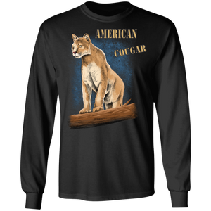 Cougar G240 Gildan LS Ultra Cotton T-Shirt AWL 161