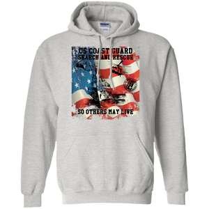 Coast Guard G185 Gildan Pullover Hoodie 8 oz. AM064