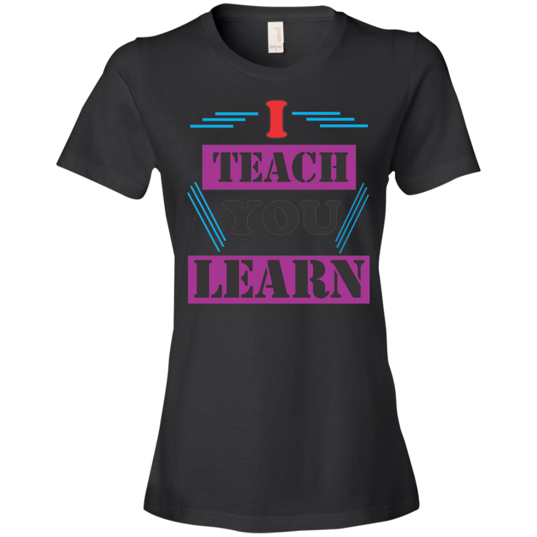 Teacher 880 Anvil Ladies' Lightweight T-Shirt 4.5 oz AH115