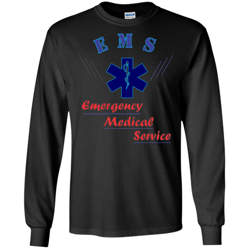 EMT G240 Gildan LS Ultra Cotton T-Shirt AH139
