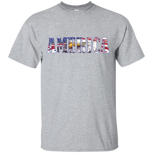 Patriotic G200 Gildan Ultra Cotton T-Shirt AP004