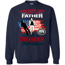 Navy G180 Gildan Crewneck Pullover Sweatshirt  8 oz AM074.