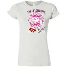 Firefighters  G640L Gildan Softstyle Ladies' T-Shirt  AH149