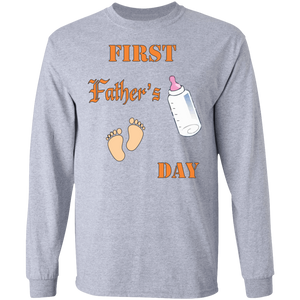 G240 LS Ultra Cotton T-Shirt Fathers Day 026