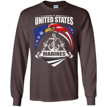 Marines G240 Gildan LS Ultra Cotton T-Shirt AM060