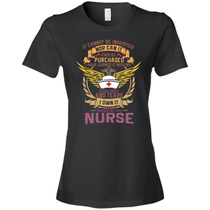 Nurse 880 Anvil Ladies' Lightweight T-Shirt 4.5 oz AH124