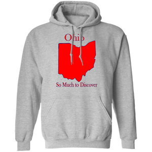 G185 Pullover Hoodie 8 oz. State 035