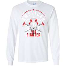 Firefighters G240 Gildan LS Ultra Cotton T-Shirt AH143