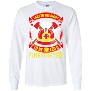 Firefighters G240 Gildan LS Ultra Cotton T-Shirt Ah145