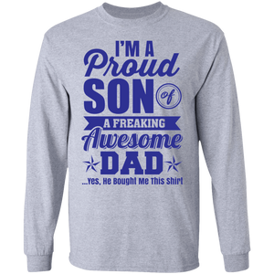 G240 LS Ultra Cotton T-Shirt Fathers Day 034