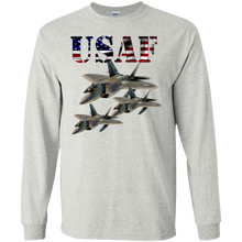 Air Force G240 Gildan LS Ultra Cotton T-Shirt AM069